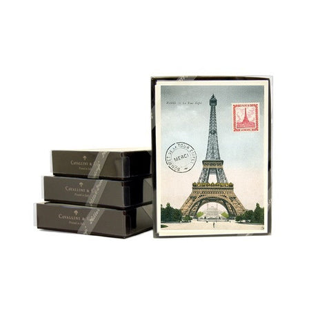 Cavallini & Co. Paris Eiffel Tower Thank You Note Card Boxed Set