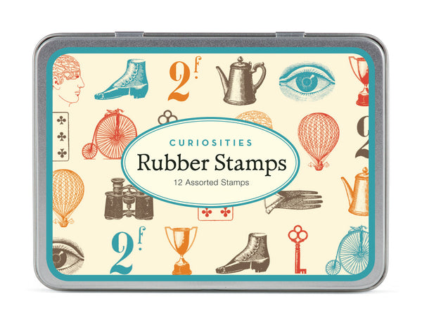 Cavallini & Co. Curiosities Small Rubber Stamp Set