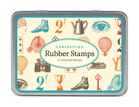 Cavallini & Co. Curiosities Rubber Stamp Set
