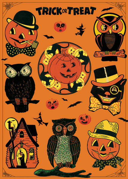 Cavallini & Co. Halloween Decorative Paper Sheet