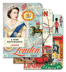 Cavallini & Co. London Mini Notebooks Set