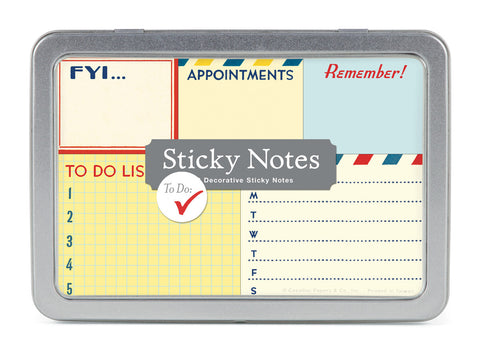 Cavallini & Co. To Do Sticky Note Set