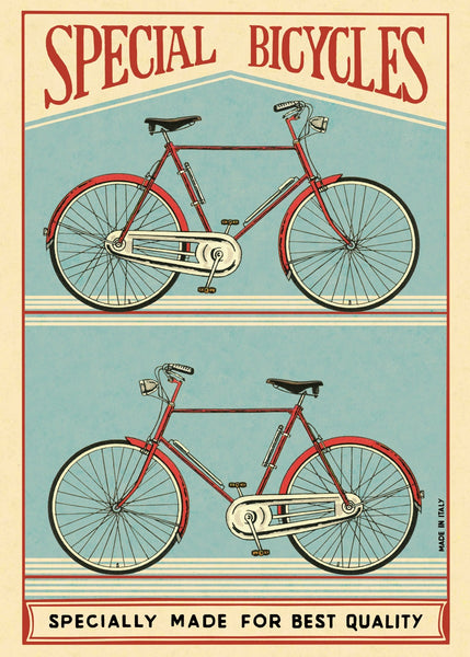 Cavallini & Co. Special Bicycles Decorative Paper Sheet