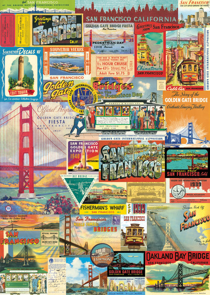 Cavallini & Co. San Francisco Decorative Paper Sheet