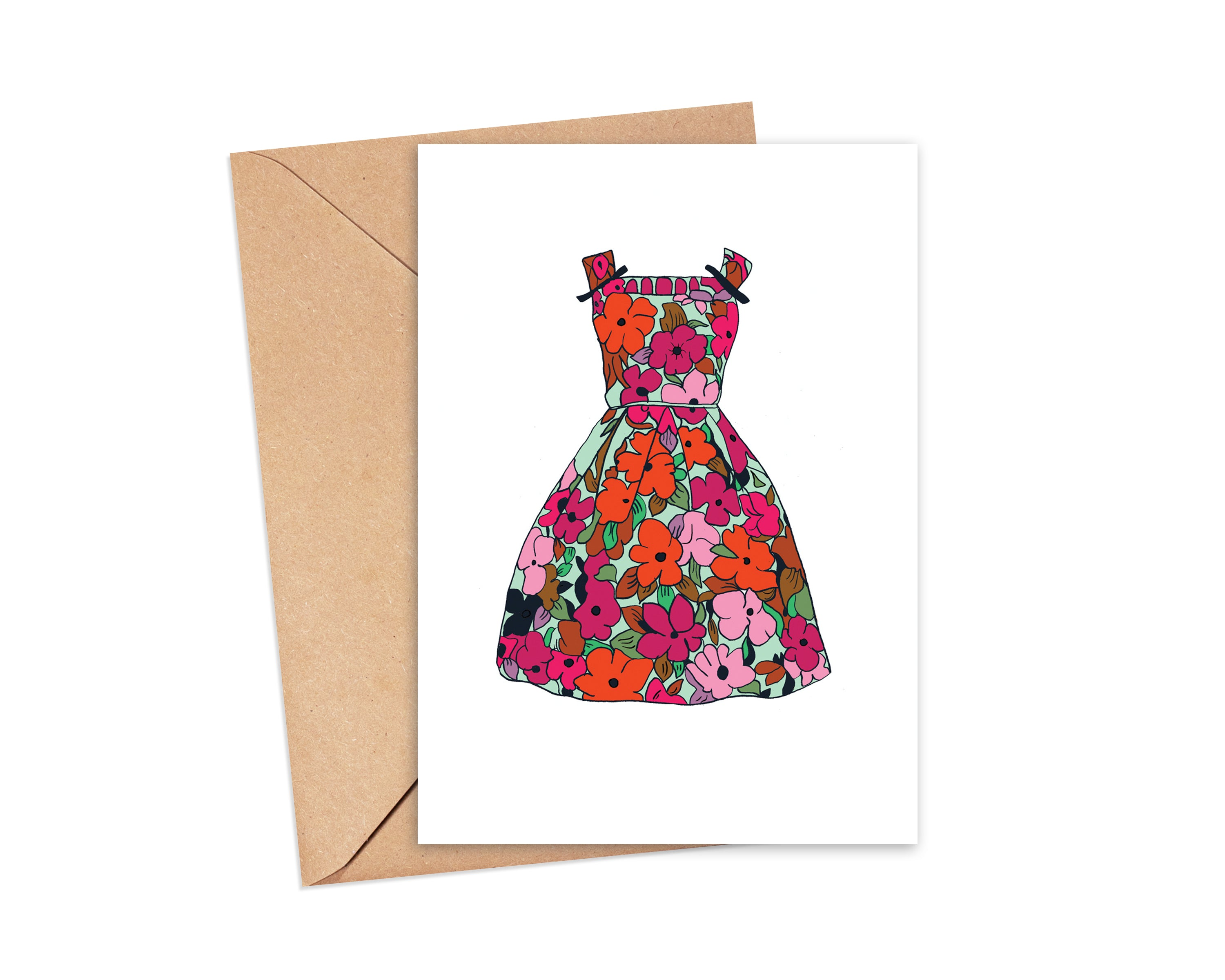 """Party time"" Blank Card"