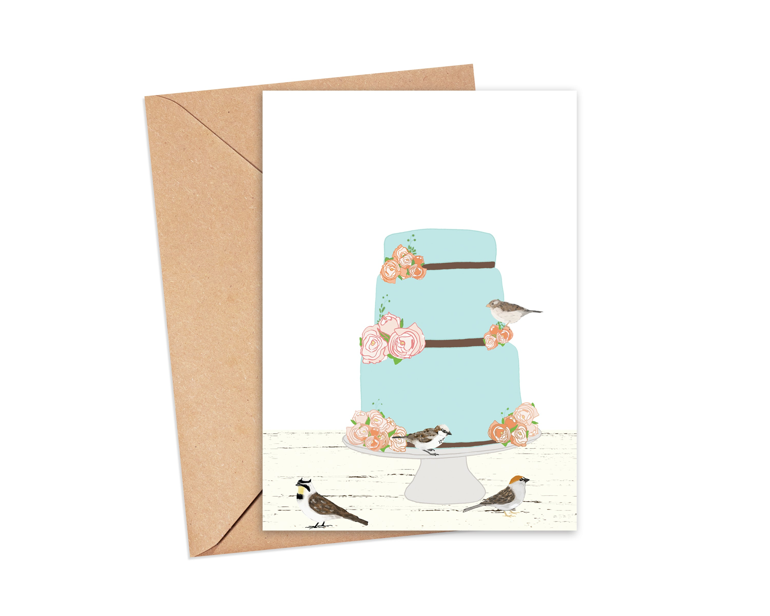 """Icing on the Cake"" Blank Card"