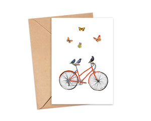 """You're my starling"" Blank Card"