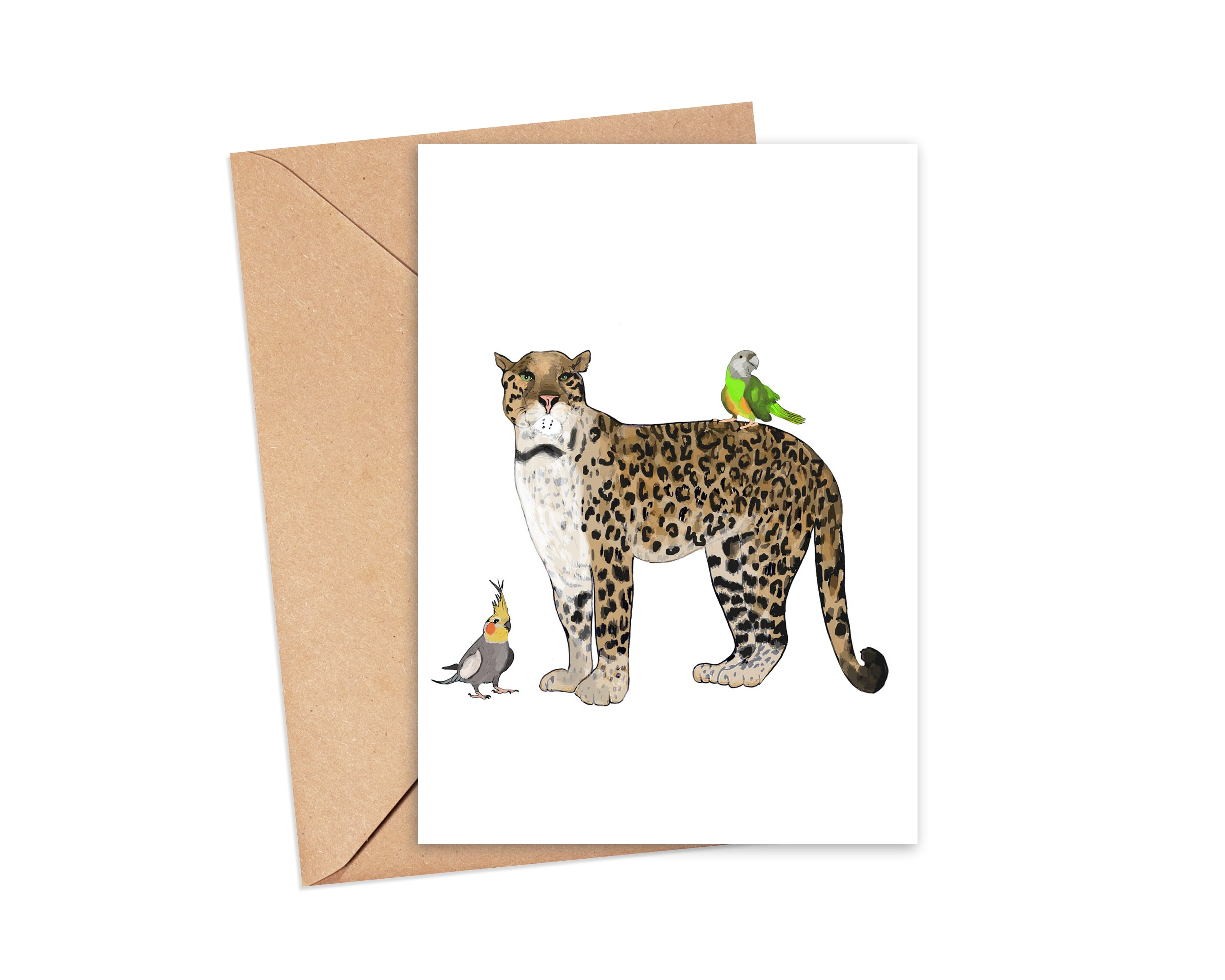 """Hunting for you"" blank card"