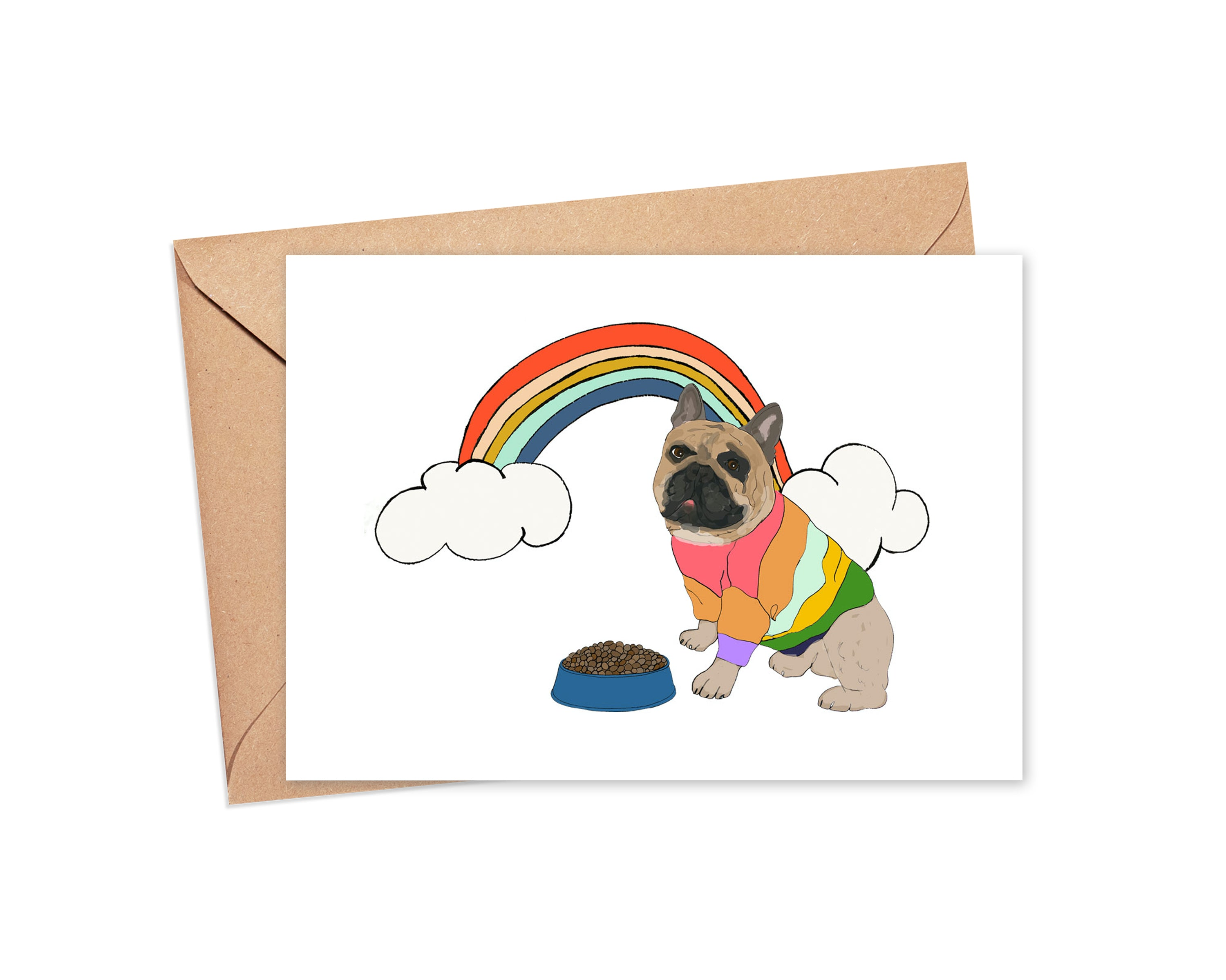 """Pot of gold"" Blank Card"