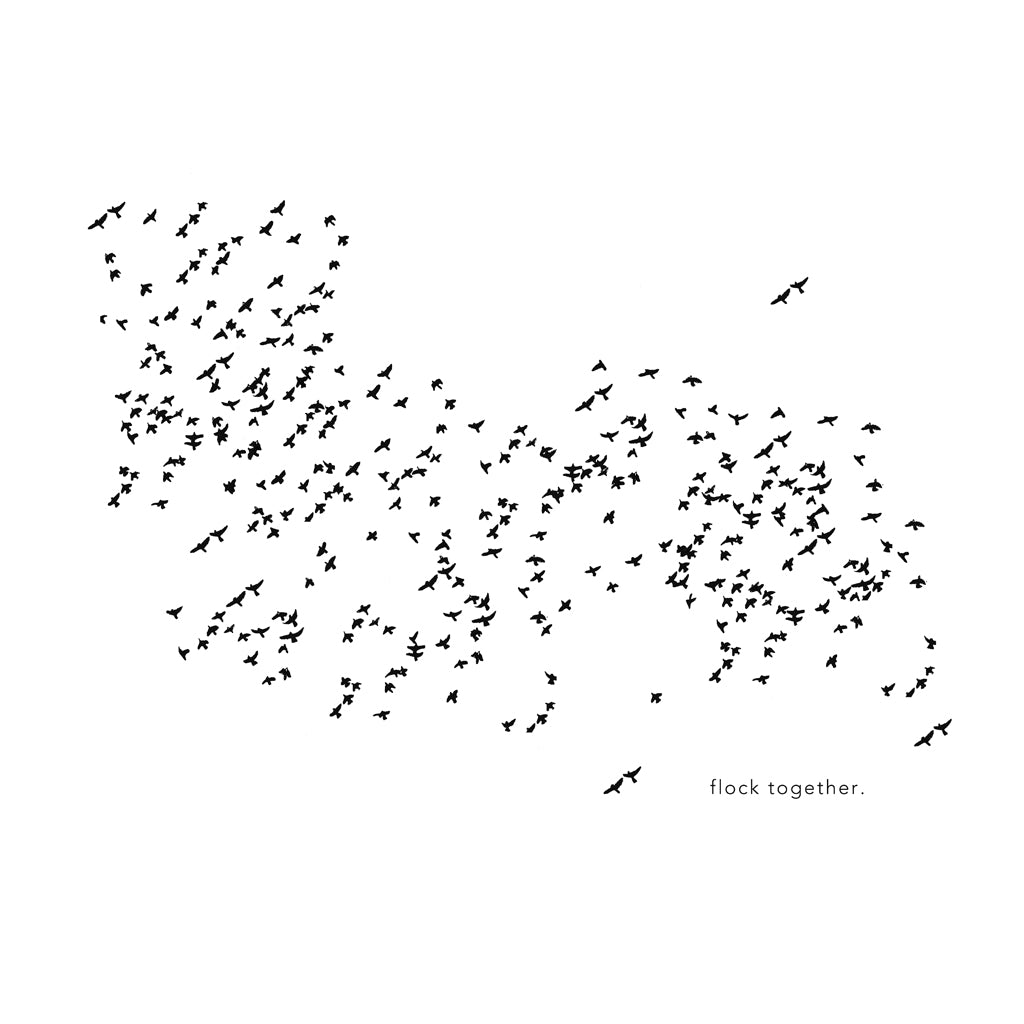 """Flock Together"" Print"