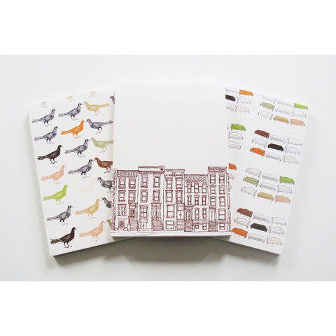 I love the City Note Pad Set