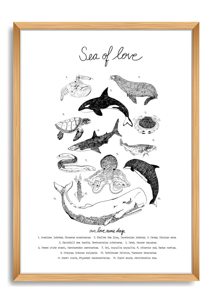 """Sea of Love"" Print"
