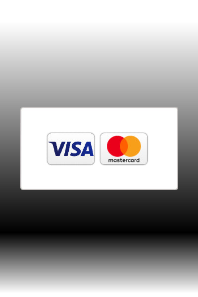 Credit Card as payment option.