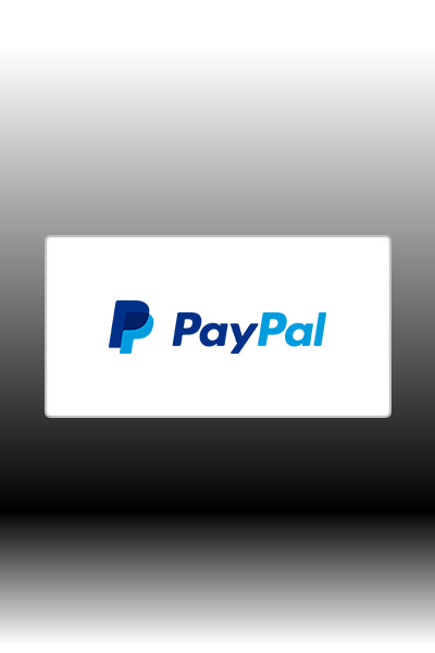 PayPal as payment option.