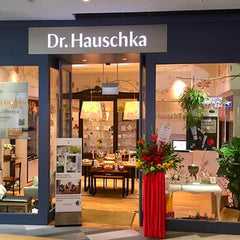 Entrance of the Dr Hauschka Flagship store in Singapore