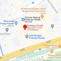 Location of Dr Hauschka Parkway Parade on Google Maps