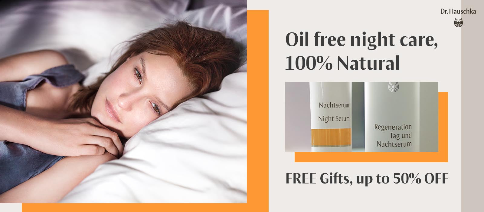 Dr Hauschka Oil Free night care discounts and free gifts