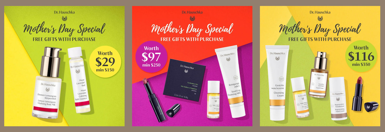 Surprise mother with free gifts