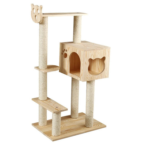 Cat Climbing Frame Solid Wood