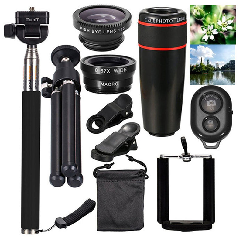 10 in 1 Smartphone Camera Lens Cell