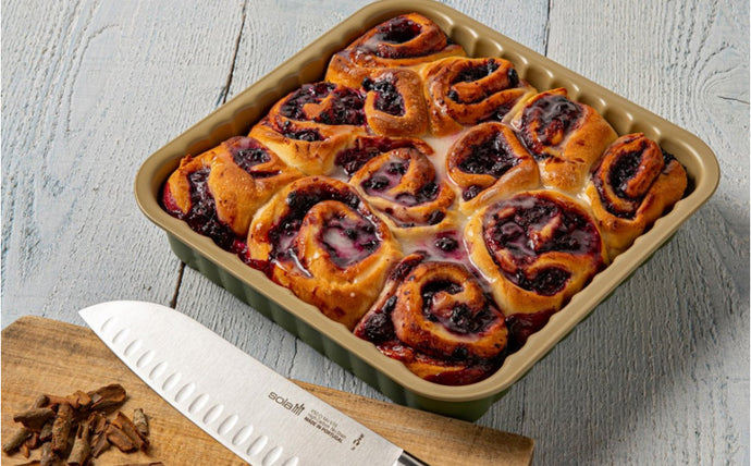 Blue berry lemon buns (vegan recipe)