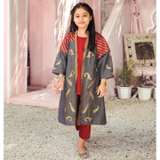 Charcoal Grey Cardigan 3PC Kids