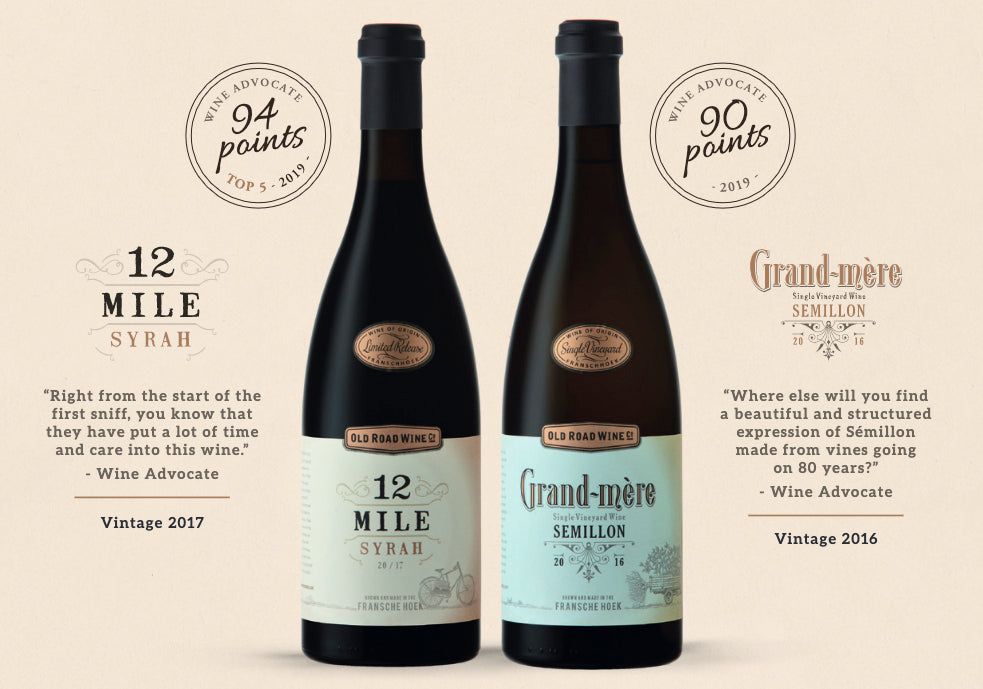 Wine Advocate - 12 Mile and Grand-mére