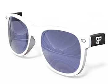 Blue Mirrored Lenses