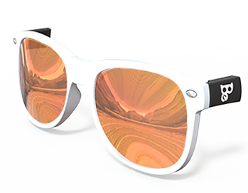 Flame Mirrored Lenses