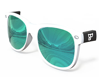 Lagoon (Blue / Green) Mirrored Lenses