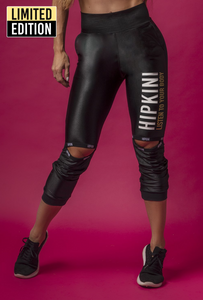 Black Fitness Pants Grl with Cutouts
