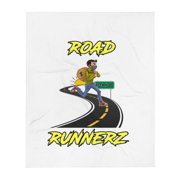 ROAD RUNNERZ Throw Blanket