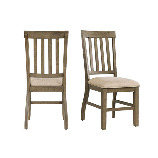 Stone Standard Height Side Chair Set of 2 image