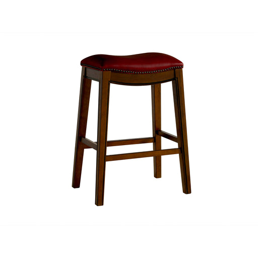 "Fiesta 30"" Backless Bar Stool in Red image"