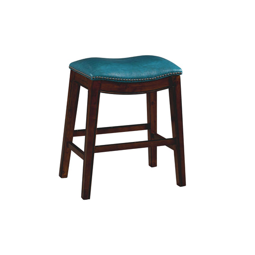 "Fiesta 24"" Backless Counter Height Stool in Blue image"