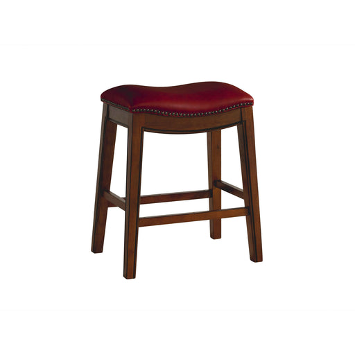 "Fiesta 24"" Backless Counter Height Stool in Red image"