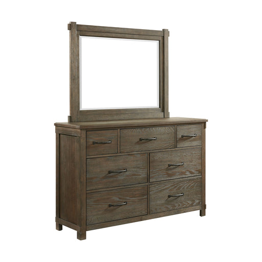 Scott 7-Drawer Dresser with Mirror Set image