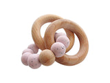 ↟  Wooden Rattle Teethers  ↟