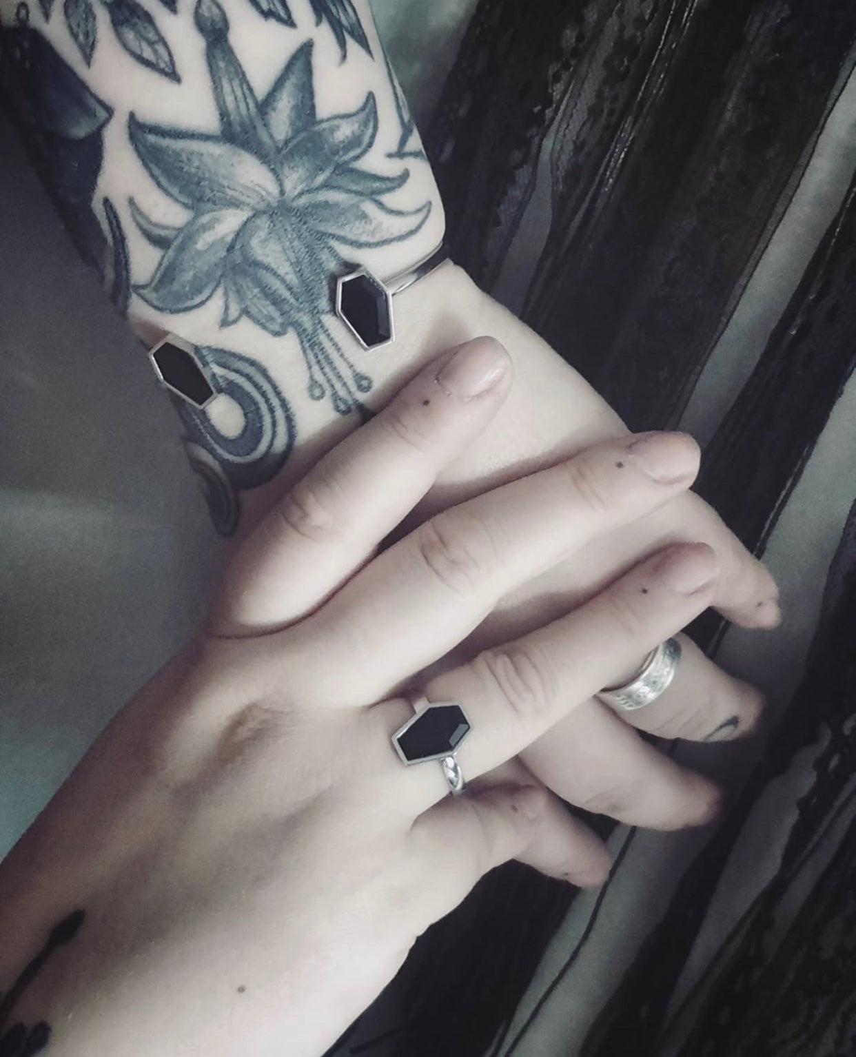 Coffin Ring - Gothic Jewellery