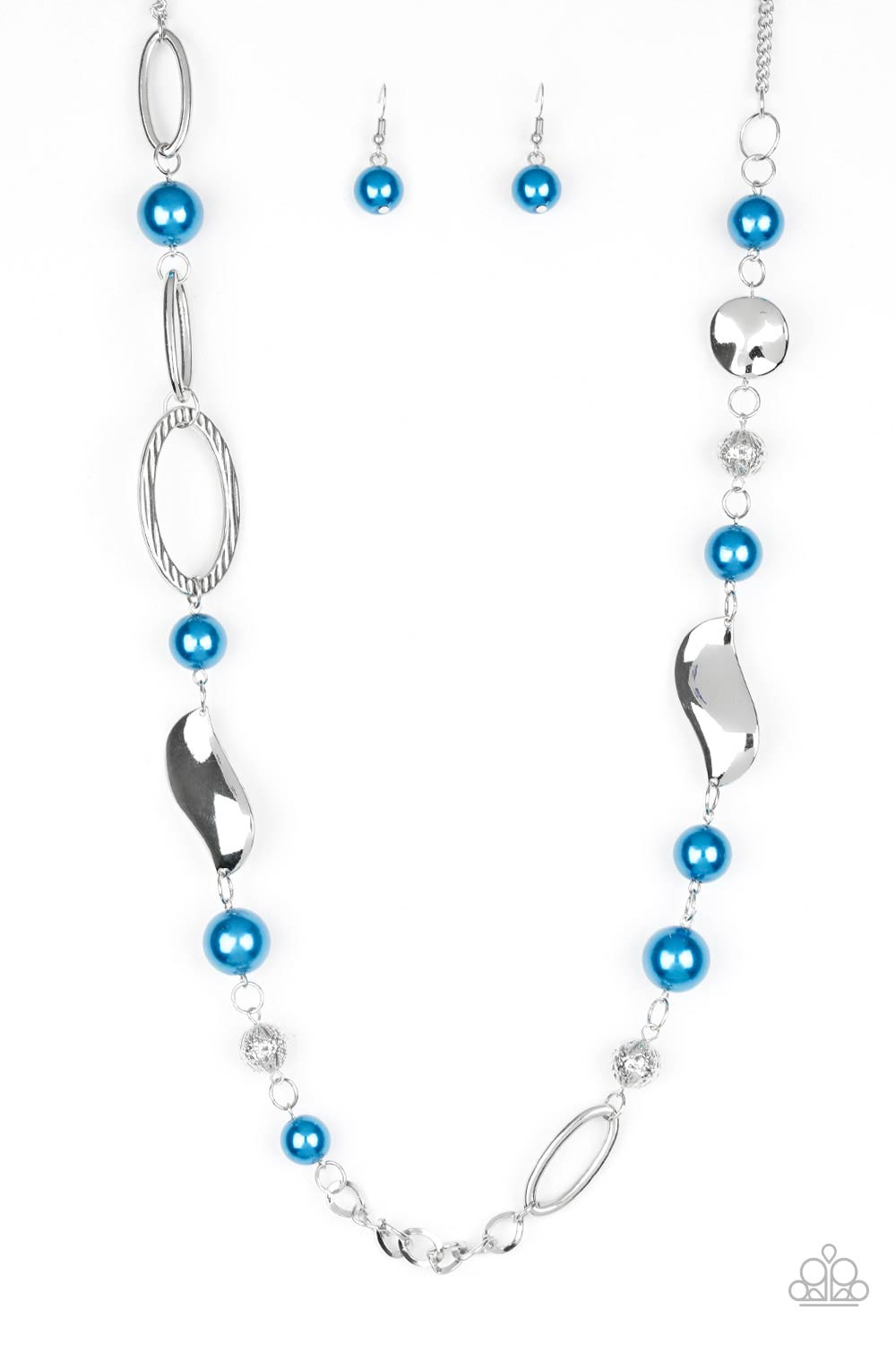 Paparazzi Necklace - All About Me - Blue