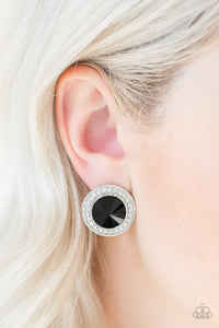Paparazzi Earring -What Should I BLING? - Black