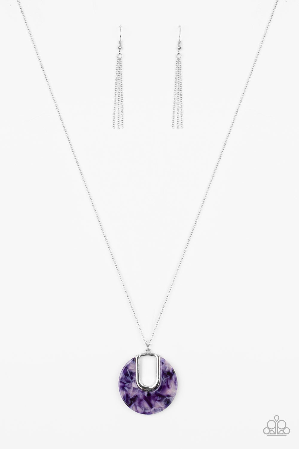 Paparazzi Necklace - Setting The Fashion - Purple