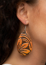 Load image into Gallery viewer, Paparazzi Earring -Garden Therapy - Brown