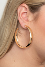 Load image into Gallery viewer, Paparazzi Earring -BEVEL In It - Gold