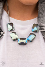 Load image into Gallery viewer, Paparazzi Necklace - Heard It On The HEIR-Waves - Blue