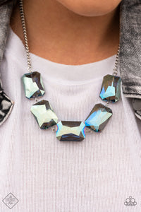 Paparazzi Necklace - Heard It On The HEIR-Waves - Blue