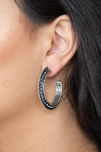 Load image into Gallery viewer, Paparazzi Earring -Retro Reverberation - Silver
