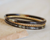 Set tre bangles in corno naturale - 003