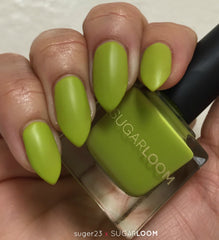 SUGARLOOM nail color Lemon Zest