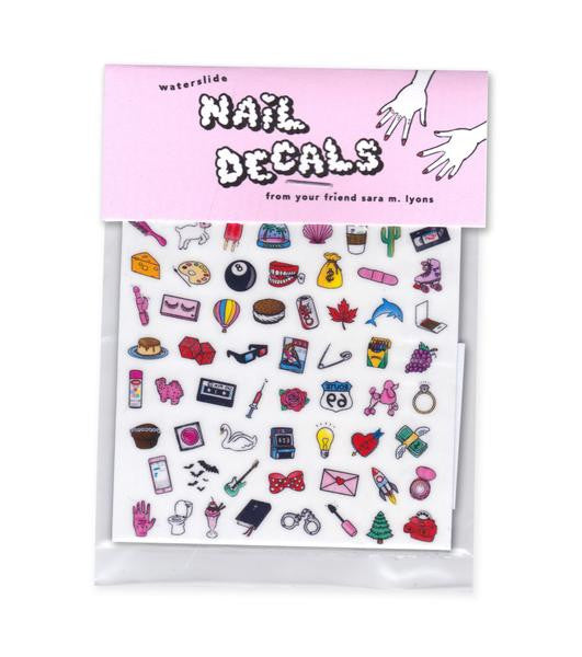 Dainty & Dirty Nail Decals